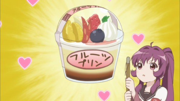 'reserved' pudding... must be protected from that bakemono!