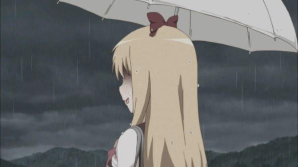 Kyouko soaked wet